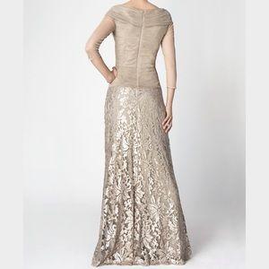 Tadashi Shoji Dresses & Skirts - Tadashi Shoji Sand Colored Gown