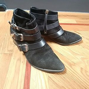 The Kooples Shoes - Black Suede The Kooples ankle boots