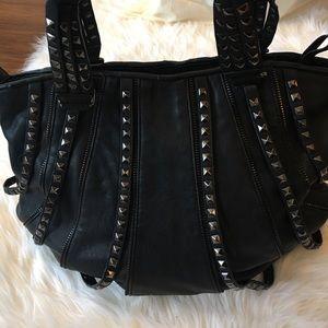ZARA Studded hobo bag