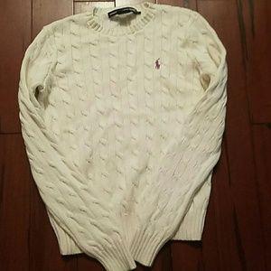 Ralph Lauren Purple Label Sweaters - Ralph Lauren white sweater