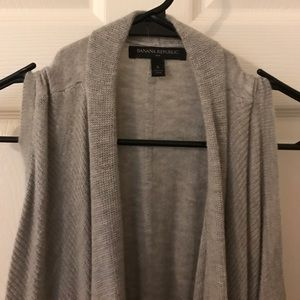 Banana Republic Sweaters - Asymmetrical cardigan vest