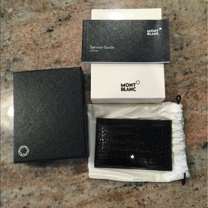 Montblanc Accessories - Montblanc New in Box Pocket Card Holder
