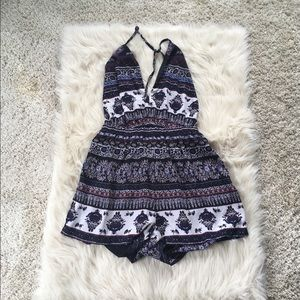 Gorgeous mimi chica backless romper