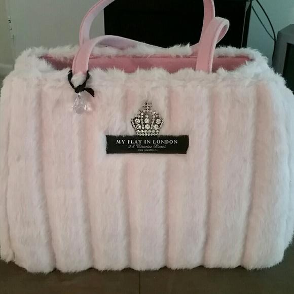 My Flat in London Bags   Pink Fur Bag   Poshmark 0a18f18178