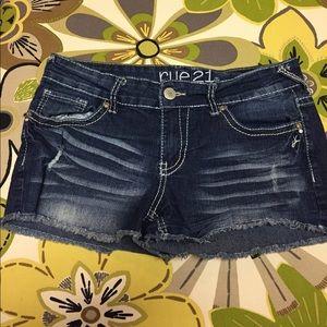 Rue 21 Pants - Rue 21 Denim shorts size 7/8