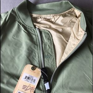 Alpha Industries Other - Alpha Industries Scout Bomber Jacket