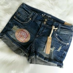 Wallflower Pants - New Wall Flower Vintage Collection Jean Shorts
