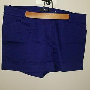 Mossimo Black Pants - Mossimo Royal Purple Shorts