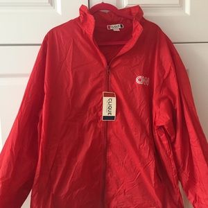 060d1701d14 Clique Jackets   Coats - CNN Red Weather Jacket