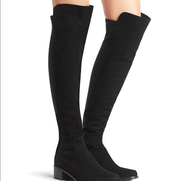 52d5ce3cece Stuart Weitzman -- The Reserve Boot Black Size 8. M 5929c899bf6df53861010a04