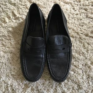 Bostonian Other - Perforated Black Bostonian Loafer