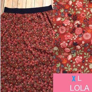 LuLaRoe Dresses & Skirts - LAST CALL**XL Lularoe Lola Skirt