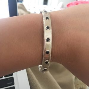 Anna Beck Jewelry - Anna beck silver and onyx cuff