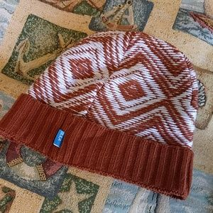 $7 if bundled! Ikat Burnt Sienna Beanie Hat