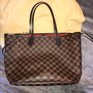 Louis Vuitton Handbags - Louis Vuitton MM damier ebene neverfull AUTHENTIC