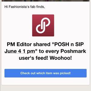 posh n sip Other - What a BLAST🎉POSH n SIP June 4 1 pm