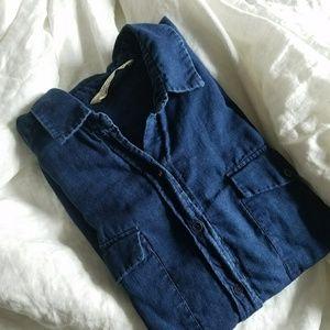 Zara Tops - FINAL FLASH SALE ZARA denim shirt