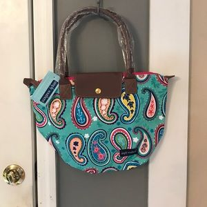 Simply Southern Handbags - NWT Simply Southern Tote, Paisley Pattern