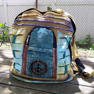 Handbags - 🆕✌🏻Handmade tie dye Boho Backpack