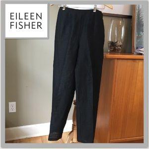 Eileen Fisher linen pants S