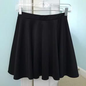 Nordstrom Dresses & Skirts - black skater skirt