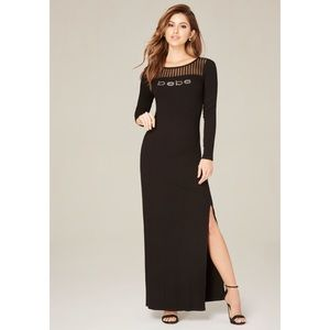 bebe Dresses & Skirts - 🆕Side slit bebe maxi