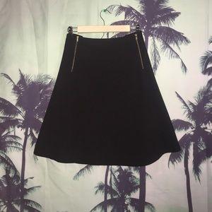 City Chic Dresses & Skirts - CITY CHIC duel zippered black skirt