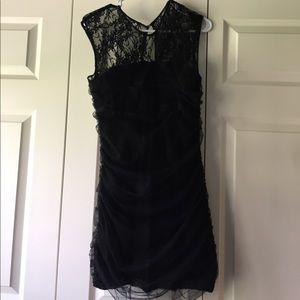Dresses & Skirts - Simple, black, lace dress