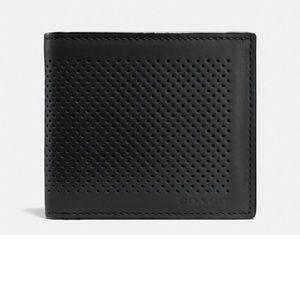 Coach Other - Coach men's double billfold wallet