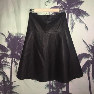 City Chic Dresses & Skirts - CITY CHIC Faux Leather Skirt
