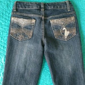 baby phat girlz Other - Baby phat embellished girls size 8 jeans