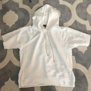 Jcrew hooded sweatshirt L
