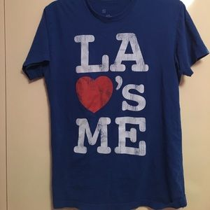 Local Celebrity Tops - Local Celebrity LA Loves Me Tee