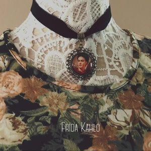 Jewelry - Frida Kahlo velvet choker necklace