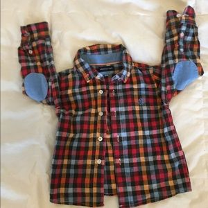 Andy & Evan Other - Andy & Evan Plaid Shirt