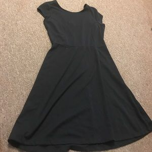 Old navy black cotton dress