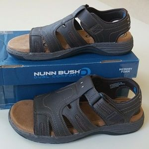 Nunn Bush Other - NWT Men's Memory Foam Superb Grip Sandal