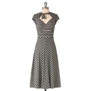 Stop Staring Dresses & Skirts - Stop Staring Striped Flare Dress