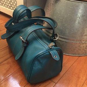Tignanello Handbags - Beautiful Teal Leather Purse