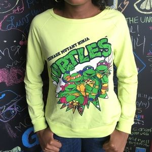 Nickelodeon Tops - Teenage Mutant Ninja Turtles Sweatshirt