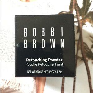 Bobbi Brown Retouching Powder. Color White, NWT