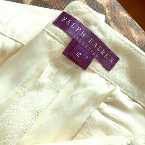 Ralph Lauren Purple Label Pants - Ralph Lauren Collection Hemp Pants