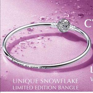 Pandora Jewelry - Pandora snowflake bangle ...pick a size