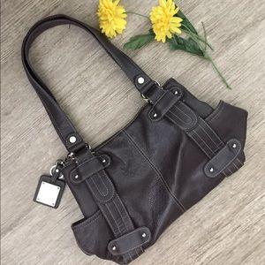 Tignanello Handbags - Tignanello Brown Leather Handbag