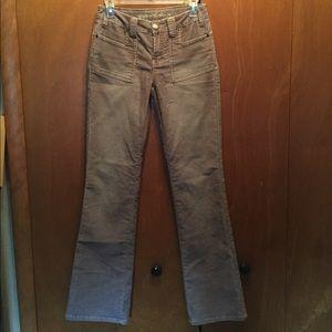 A.X.N.Y. American Exchange Pants - Corduroy Tan Pants Sz 26