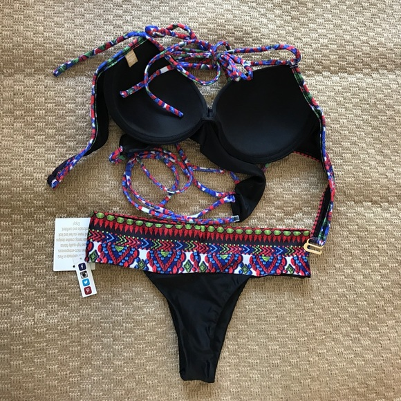 64% off Other - SOLKISSED BIKINI SET LARGE TOO SMALL ...