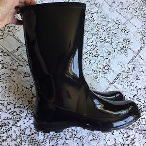 Kamik Shoes - Kamik black rubber boots