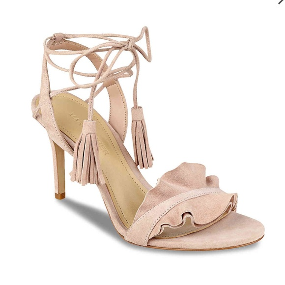 994599052d3 Marc Fisher Light Pinks Suedu Bamba Lace Up Sandal.  M 5929e3432599fe86dd016f83