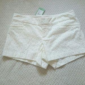 Lilly Pulitzer Pants - Lilly Pulitzer Ellie Short Resort White Shorts
