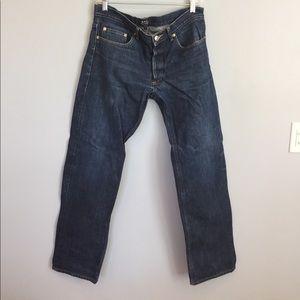 APC Other - APC Dark Wash Button Fly Men's Jeans